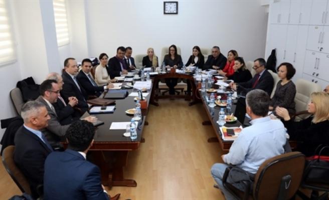 Hukuk, Siyasi İşler ve Dışilişkiler Komitesi bugün toplandı