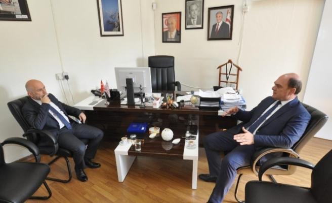 Karavezirler Fehmi Gürdallı'ya nezaket ziyaretinde bulundu