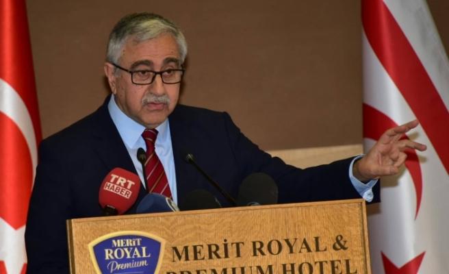 """""""Kıbrıs Türk halkının daha kaliteli bir yaşama ulaşma mücadelesinin başarıya ulaşması gerek"""""""