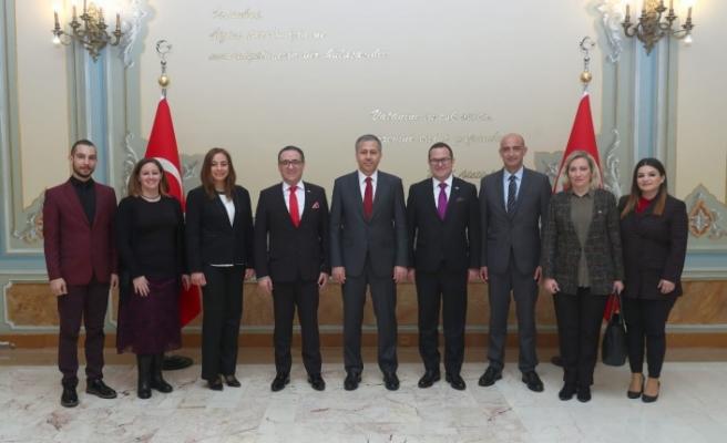 Kıbrıs Türk Ticaret Odası heyeti İstanbul'da