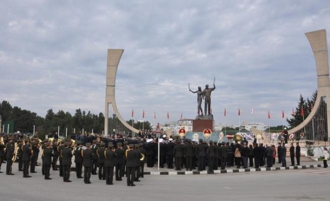 Limasol direnişi ve direniş sırasında şehit düşenler için tören düzenlendi