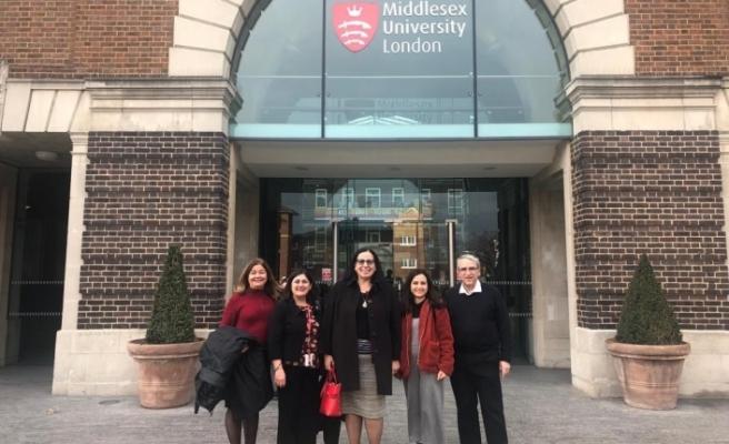 Londra Temsilcisi Tuncalı, Kıbrıslı Türk akademisyenleri ziyaret etti