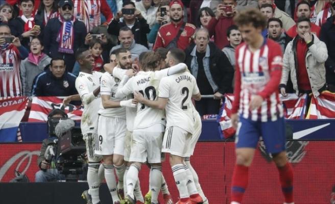 Madrid derbisinde 4 gol