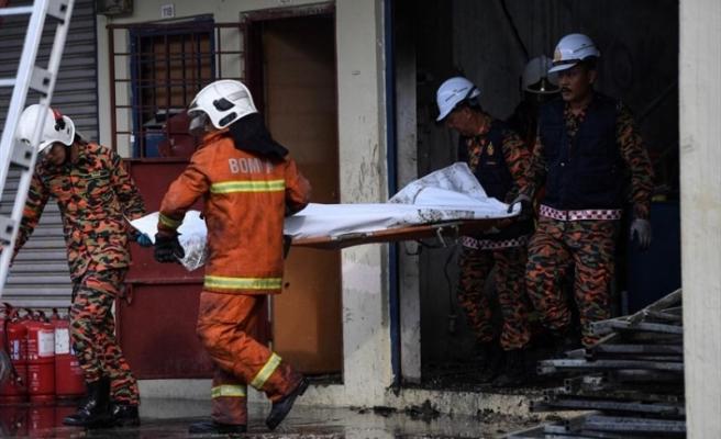 Malezya'da eğlence yerinde yangın: 6 ölü