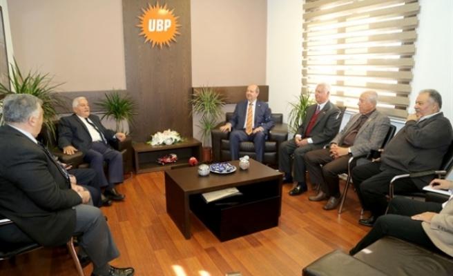 Milli Varoluş Konsey'inden UBP'ye ziyaret