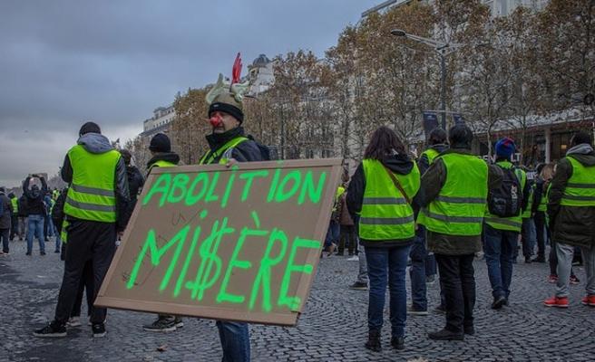 Sarı Yelekliler, Fransız ekonomisini yavaşlattı