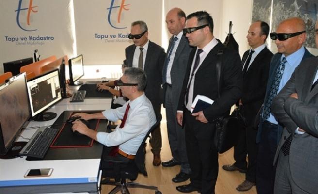 Tapu Dairesi'nde çağdaş yzzılımlarla hizmet kalitesi artıyor
