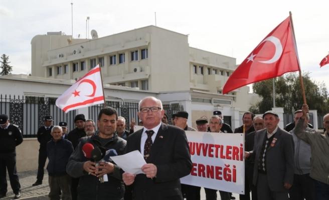 Türk Barış Kuvvetleri Gaziler Derneği, KTÖS'ü Kınadı