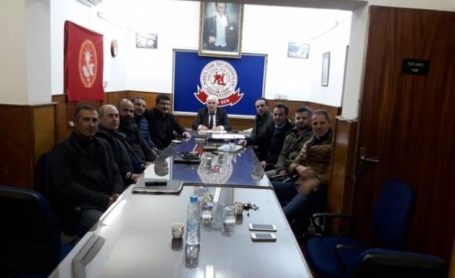 Türk-Sen'den Çeler'e tam destek