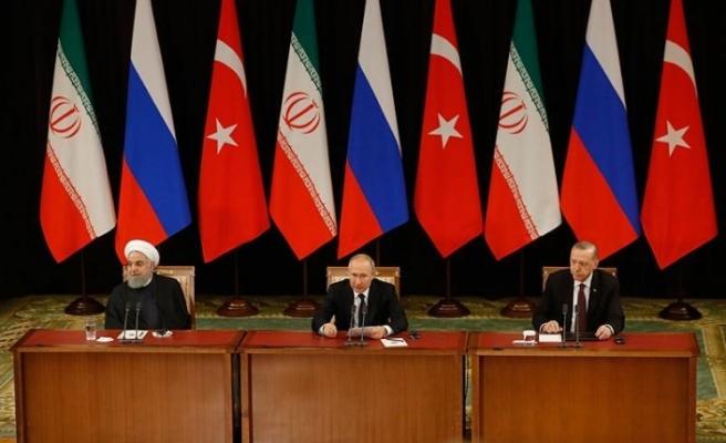 Türkiye-Rusya-İran Üçlü Zirvesi'nin ardından liderlerden açıklama