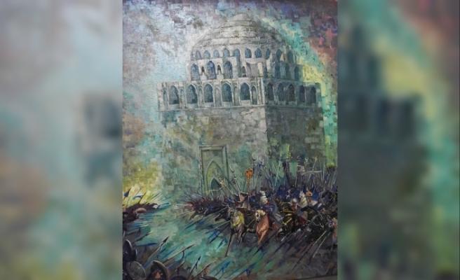 Türkmen sanatçıların özel sergisi Perşembe günü
