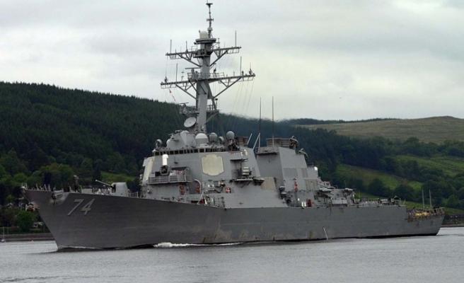 Uss Mcfaul Destroyeri Limasol Limanı'nda