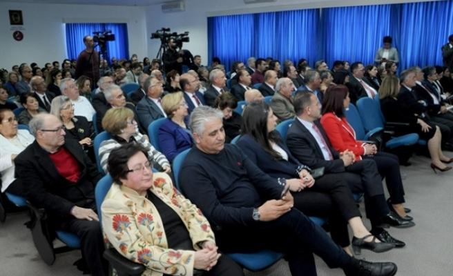 14 Mart Tıp Bayramı dolayısıyla Kıbrıs Türk Tabipleri Birliği'nde etkinlik düzenlendi