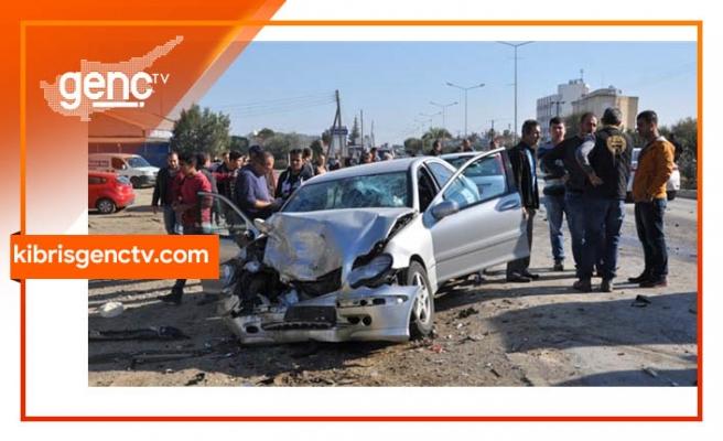 1 haftada 90 trafik kazası