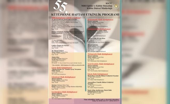 55. Kütüphane Haftası