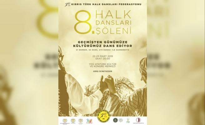 8. Halk Dansları Şöleni için çalışmalara başlandı