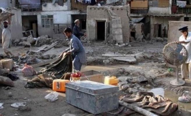 Afganistan'ı sel felaketi vurdu: 13 ölü
