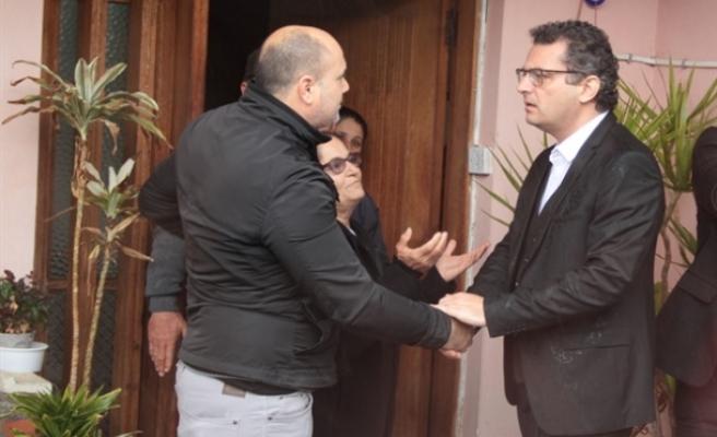 Başbakan Erhürman, su taşkınları yaşanan ve maddi hasar oluşan bölgelerde yapılan çalışmaları yerinde denetledi