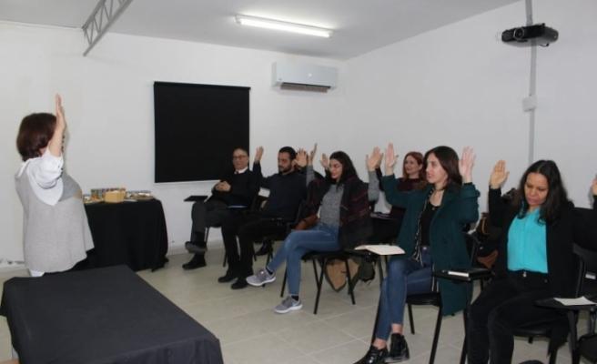 Basın mensuplarına diksiyon eğitimi