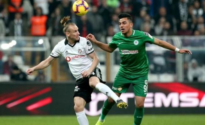 Beşiktaş - Atiker Konyaspor maçında 5 gol
