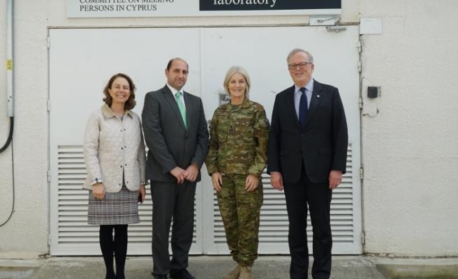 BM Komutanından Antropoloji Laboratuvarı'na ziyaret