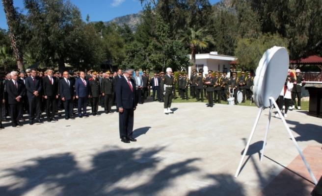Boğaz Şehitliği'nde devlet töreni