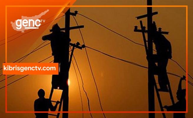 Çatalköy ve Lapta'da bazı bölgelere elektrik verilemeyecek
