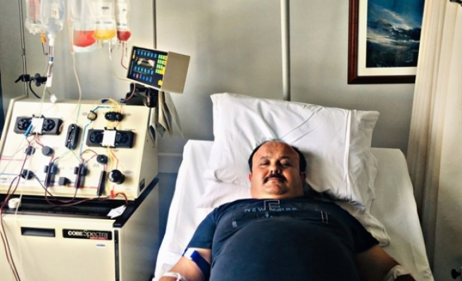 Donör Turgay Arslan, tanımadığı hasta için kök hücre bağışında bulundu