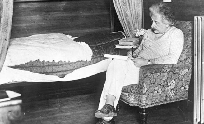 Einstein'ın kaleme aldığı 110 belge ilk kez sergilendi