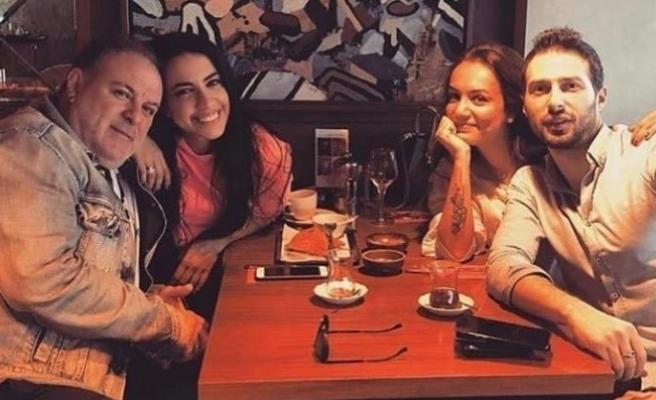 Eski eşler Burak Sergen ile Işıl Ulutürk, yeni sevgilileriyle aynı masada