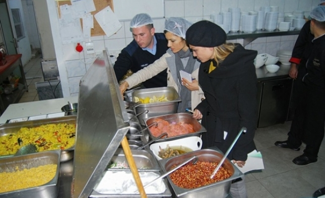 Girne Belediyesi'nden sağlık denetimleri