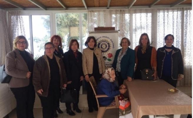 Girne Inner Wheel, Lapta Huzur Evi'ni ziyaret etti