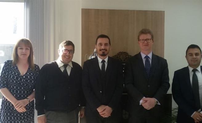 İngiliz Yüksek Komiseri'nden Barolar Birliği'ne ziyaret