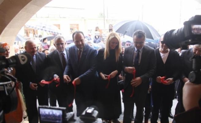 İskele Belediyesi Kültür Evi açıldı