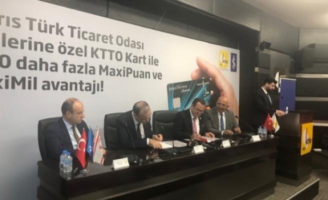 Kıbrıs Türk Ticaret Odası ile Türkiye İş Bankası arasında kredi kartı protokolü imzalandı