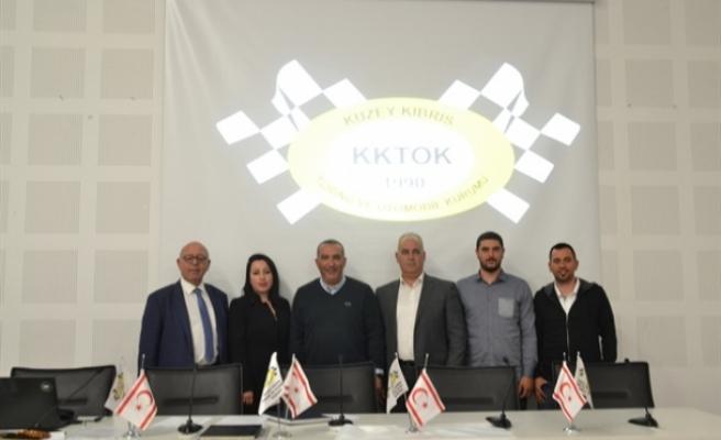 Kuzey Kıbrıs Turing ve Otomobil Kurumu Başkanlığına yeniden Tigin Kişmir seçildi
