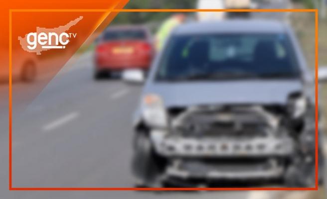 Lefkoşa'da trafik kazası: 2 yaralı!