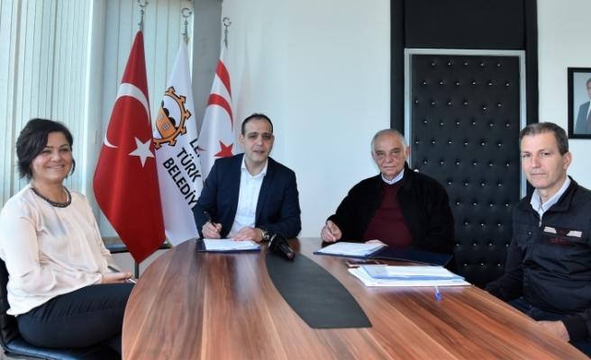 Lefkoşa'nın kanalizasyon altyapısı için önemli bir adım daha atıldı