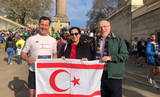 Londra Temsilcisi'nden Okan Baysan'a destek