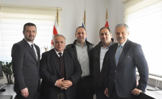 Makedonya Eğitim Bakanlığı Müsteşarı'ndan DAÜ'ye ziyaret