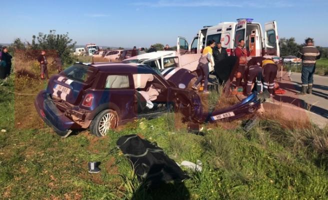 Pamuklu - Kumyalı Anayolunda korkunç kaza: 2 kişi öldü