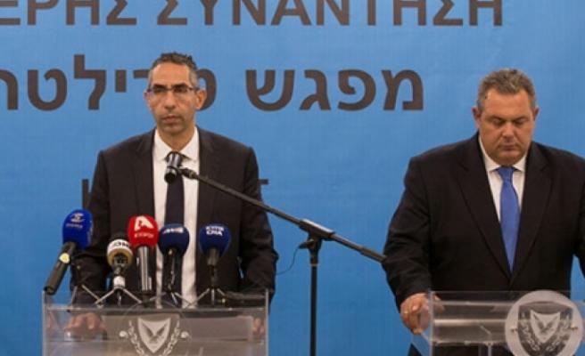 Rum - Yunan Savunma Bakanları toplantıya katıldı