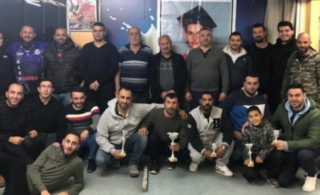 Salih Özgünan Açık Darts Turnuvası'nda Mehmet Fırat şampiyon oldu