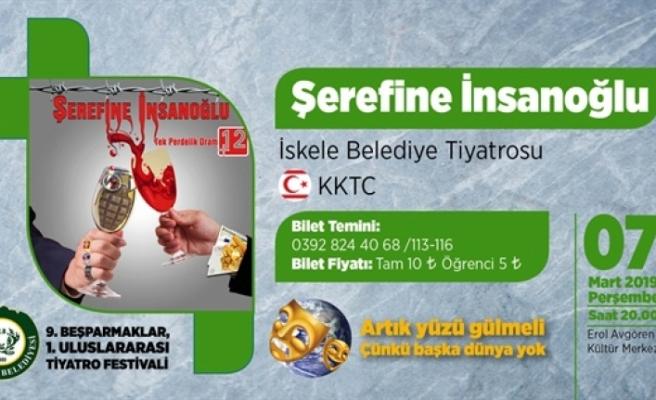 """""""Şerefine İnsanoğlu"""" oyunu bu akşam Çatalköy'de"""