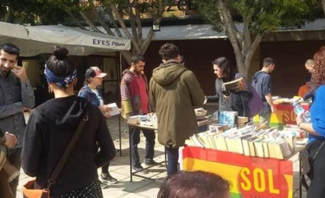Sol Hareket'ten ikinci el kitap pazarı etkinliği