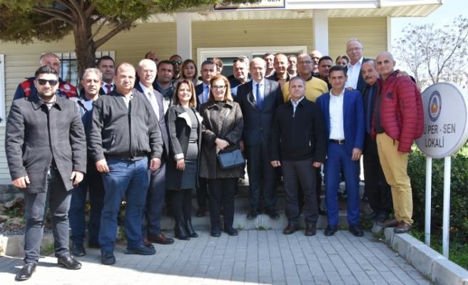 Tatar'dan DAÜ ve DAÜ Per Sen'e ziyaret