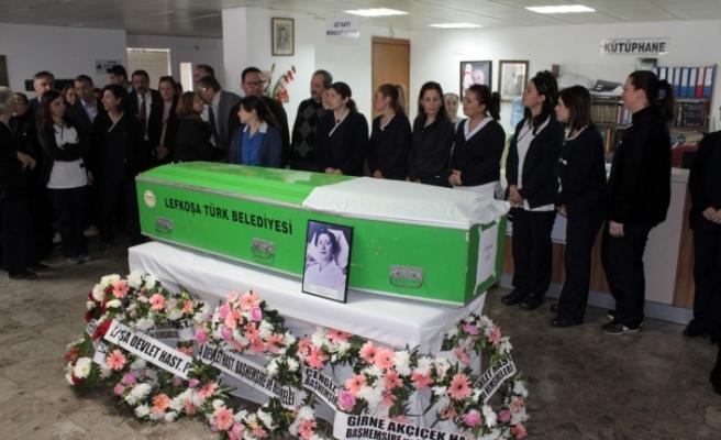 Türkan Aziz bugün son yolculuğuna uğurlandı