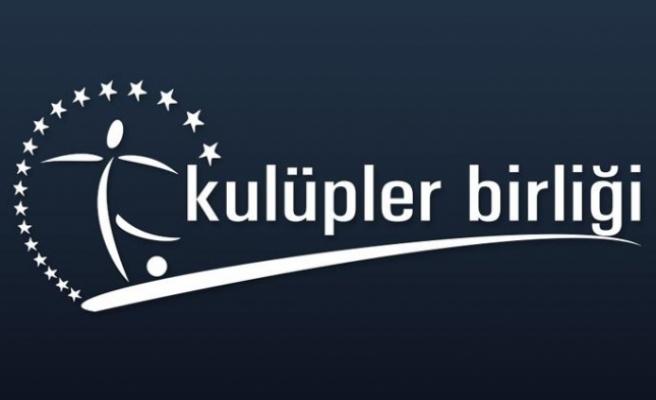 Türkiye Kulüpler Birliği'nden açıklama