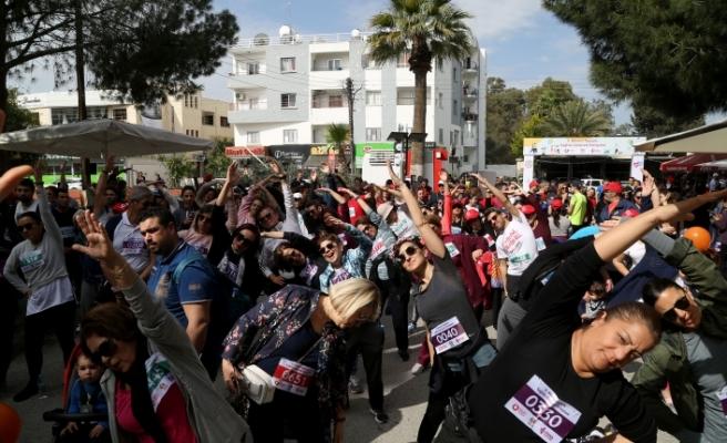 2. Bilinçli Toplum Sağlıklı Gelecek Halk Yürüyüşü/ Koşusu yapıldı