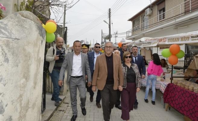 3. Kozanköy hellim ve pastelli festivali açıldı